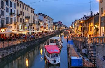 Evening Food&Wine tour on Navigli District