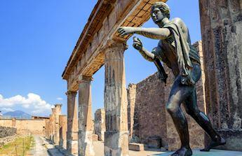 Pompei Statua