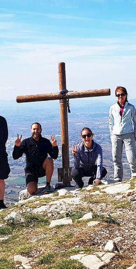 Hiking on Mount Subasio