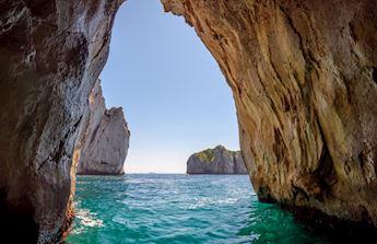 Spiaggia a Capri