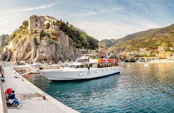 Cinque Terre Cruise from Vernazza