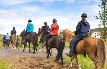 horse ride tuscany