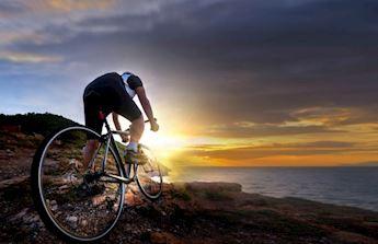Mountain bike in Cinque Terre